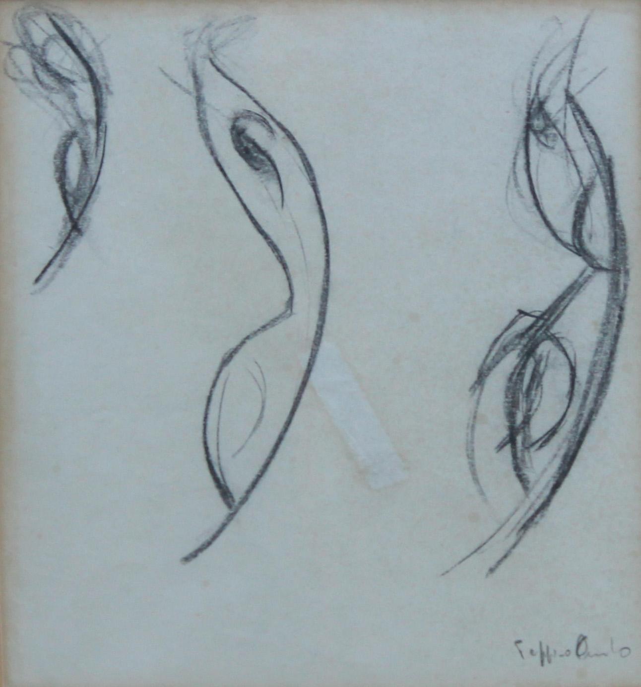 Librarsi, studio, 1984 -19x21 cm