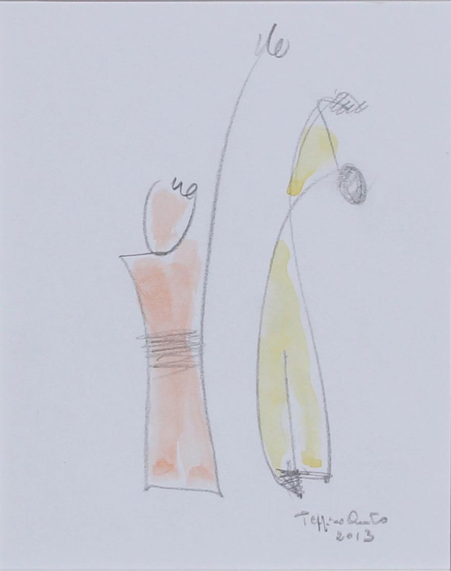 La danza, 2013 - 12x15 cm