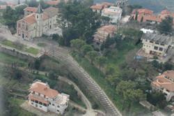Piazzale del santuario della Madonna del Colle