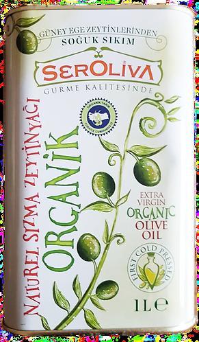 Seroliva Organik Naturel Sızma Zeytinyağı 1 Lt
