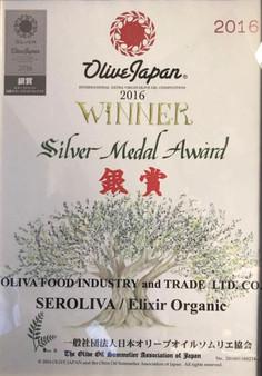 Olive Japan Seroliva Gümüş Madalya