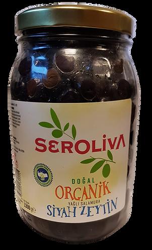 Seroliva Organik Siyah Zeytin 1.5Kg