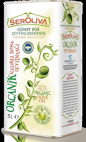 Seroliva Organik Naturel Sızma Zeytinyağı 5 Lt