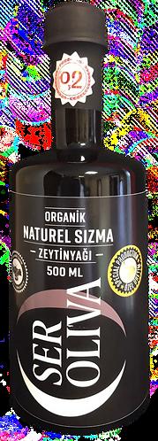 Seroliva Özel Üretim 0.2 Asit  Organik Naturel Sızma Zeytinyağı 500 Ml