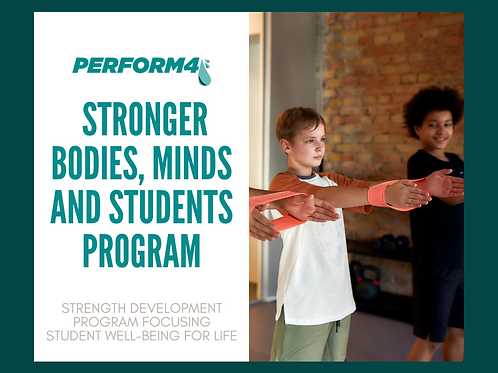 Stronger Bodies, Minds & Students Program