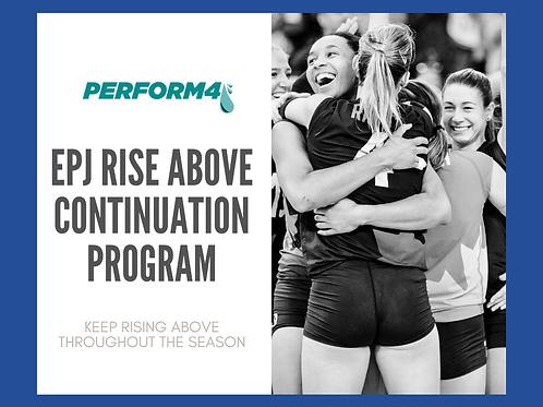 EPJ Rise Above- 2020 Continuation Program