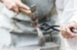 klippning av metall