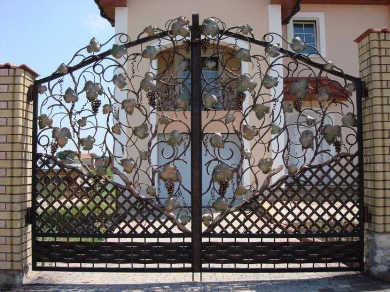 Кованые ворота КВ-27