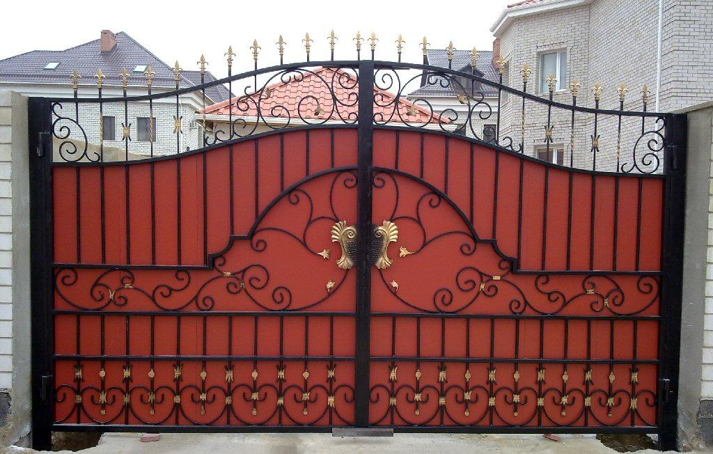Кованые ворота КВ-5