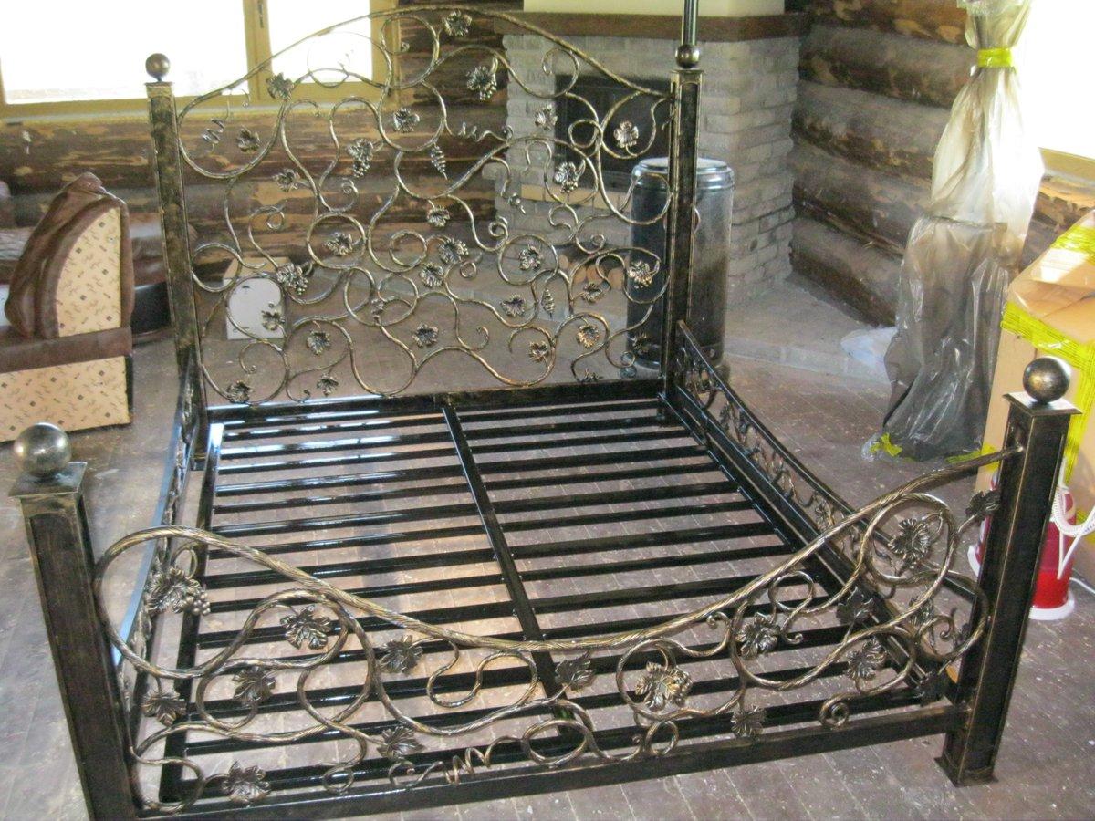 Кованая кровать М91