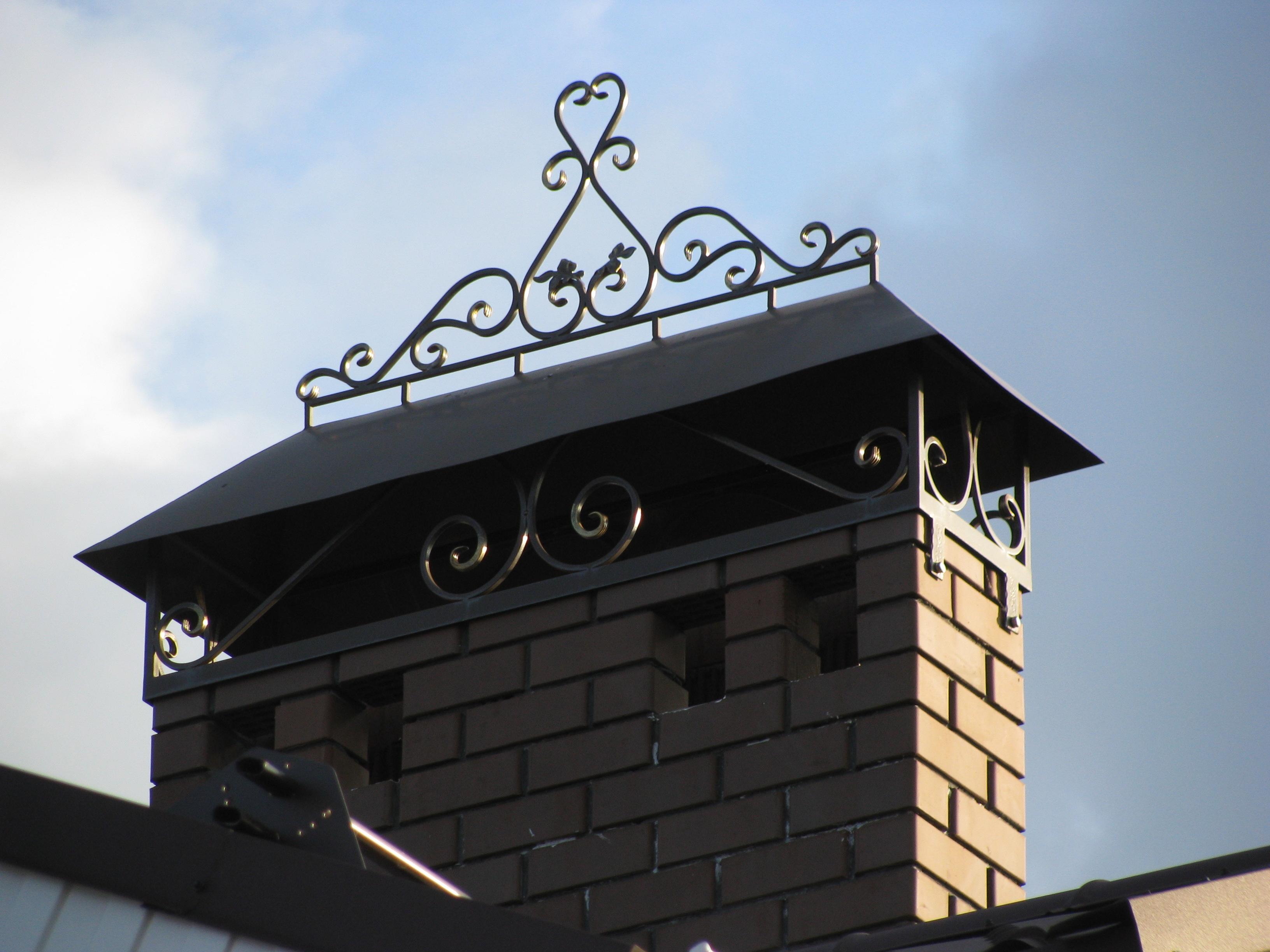 Кованая крыша А15