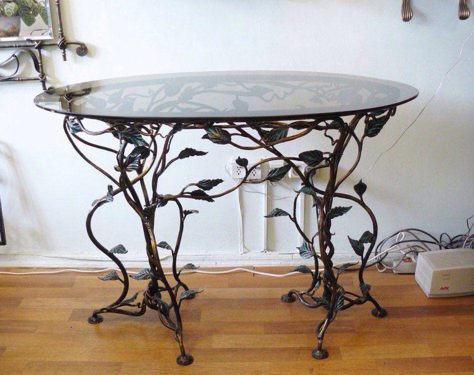 Кованый стол М4