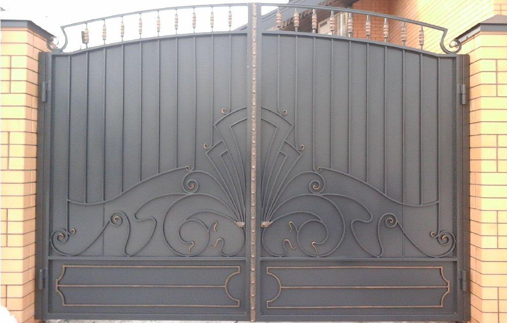 Кованые ворота КВ-11