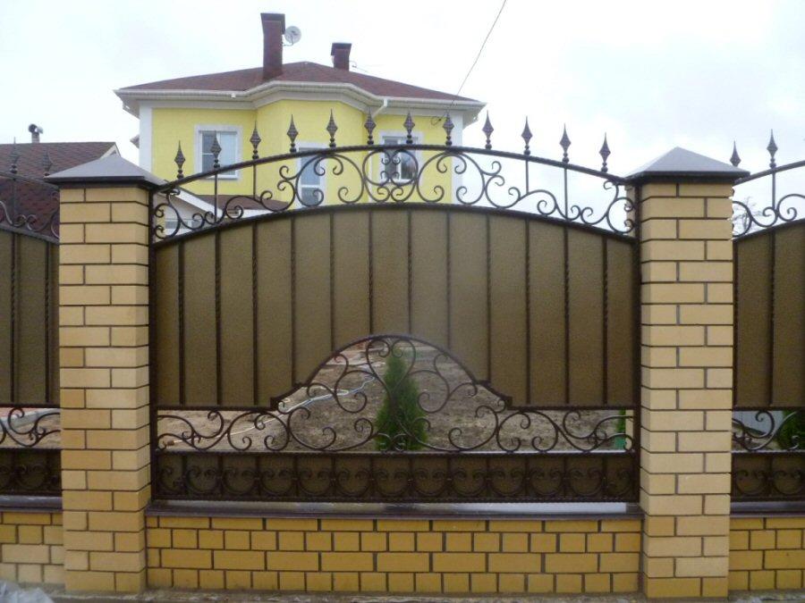 Кованый забор КЗ-20