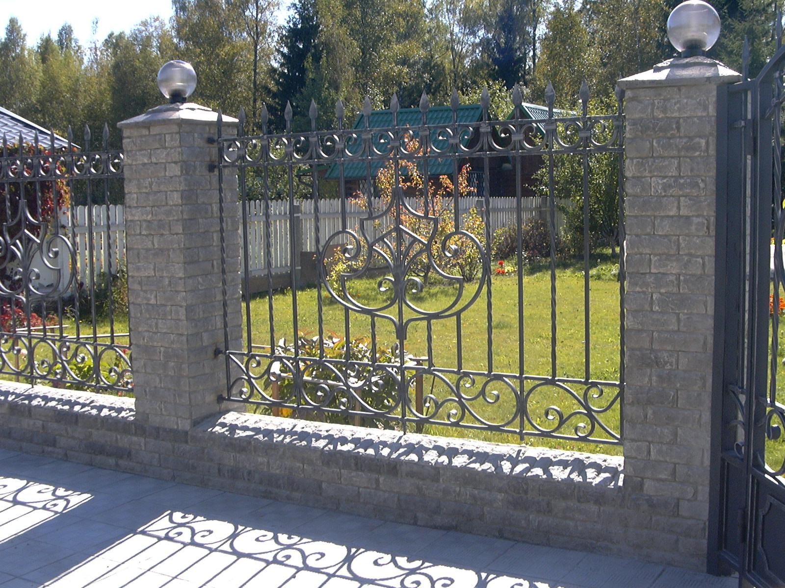 Кованый забор КЗ-42