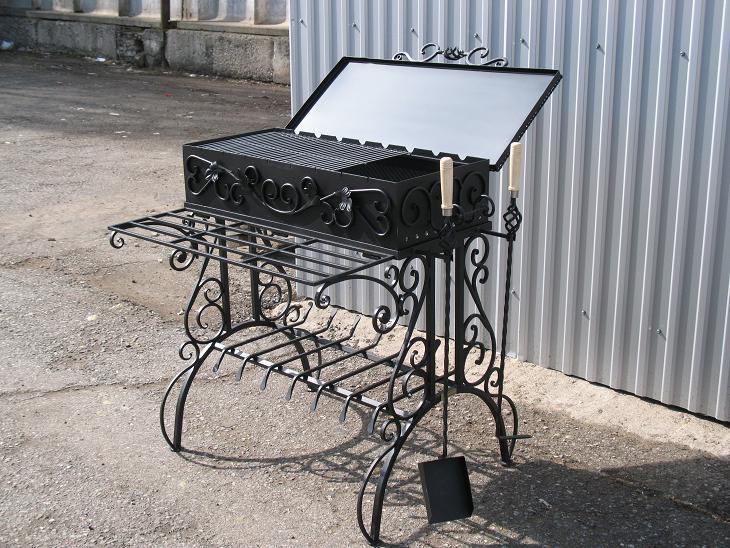 Кованый мангал КМ-45