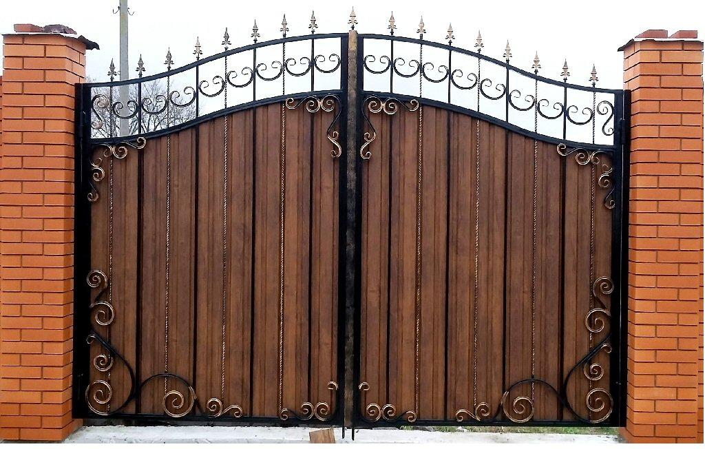 Кованые ворота КВ-7
