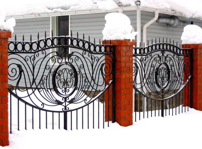 Кованый забор КЗ-52