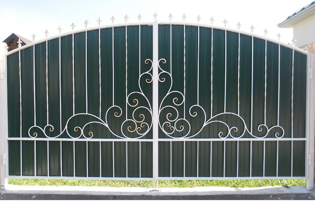 Кованые ворота КВ-6