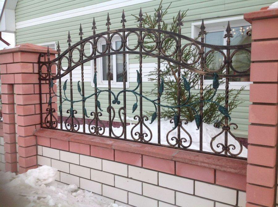 кованый забор КЗ-6