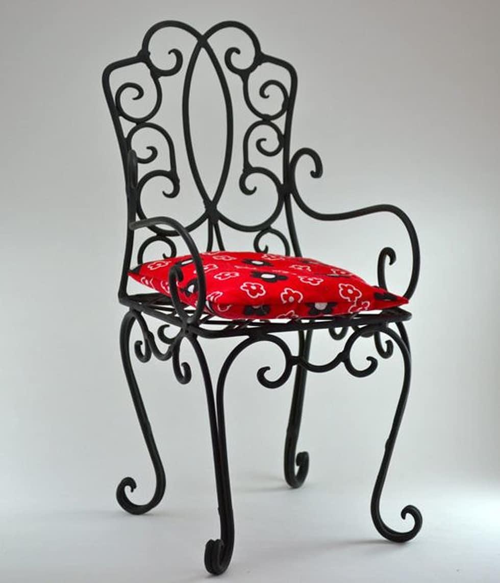 Кованый стул М75