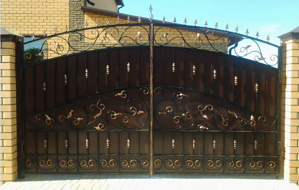 Кованые ворота КВ-4