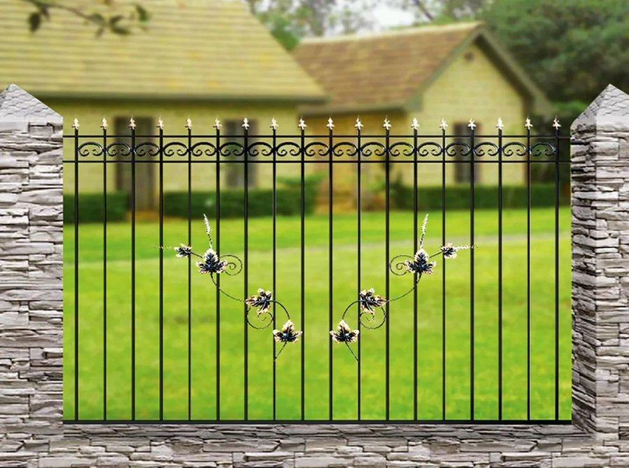 Кованый забор КЗ-19