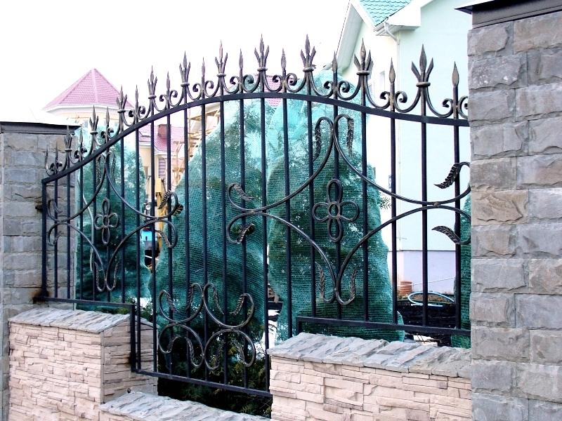 Кованый забор КЗ-43