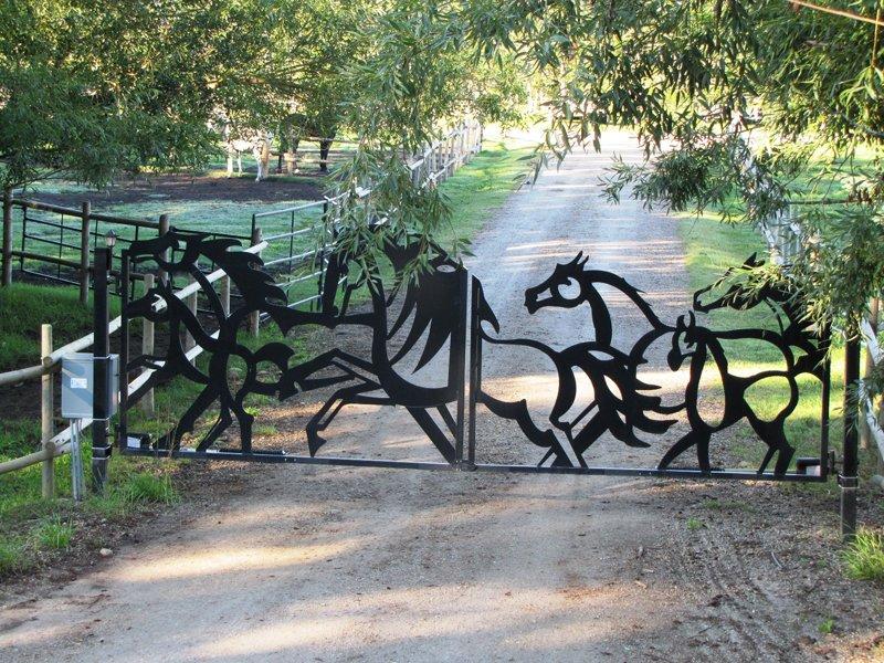 Кованый забор КЗ-35