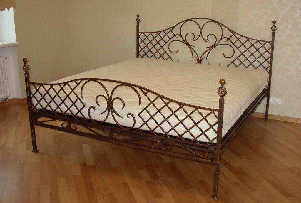 Кованая кровать М40