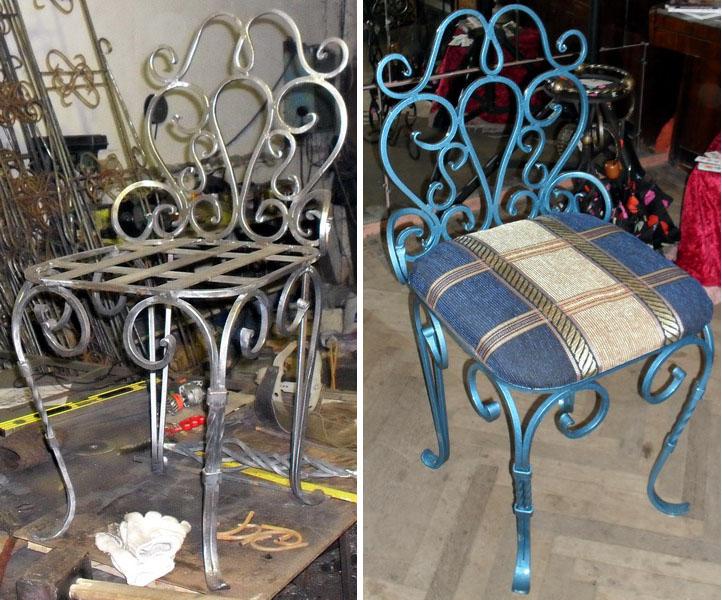 Кованые стулья М81