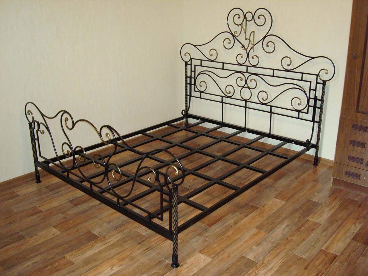 Кованая кровать М37