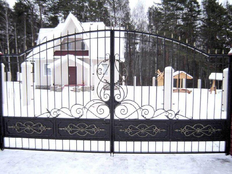 Кованые ворота КВ-30