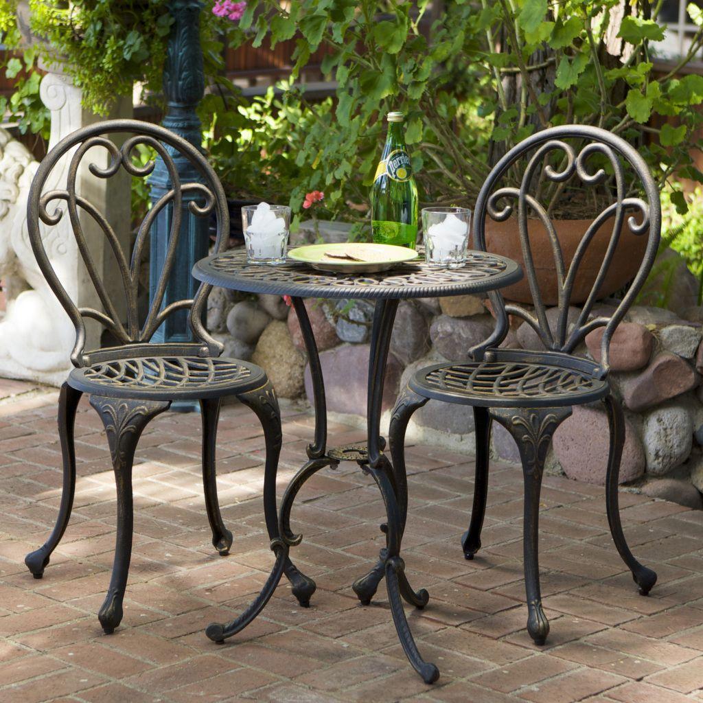 Кованый стол со стульями М18