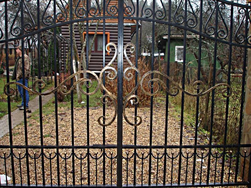 Кованый забор КЗ-41