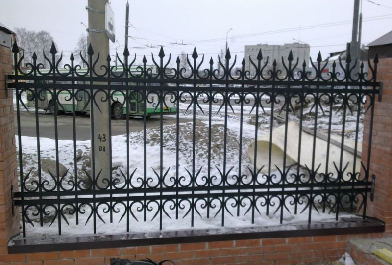 Кованый забор КЗ-60