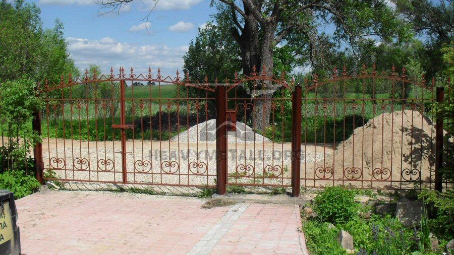 Кованые ворота КВ-47
