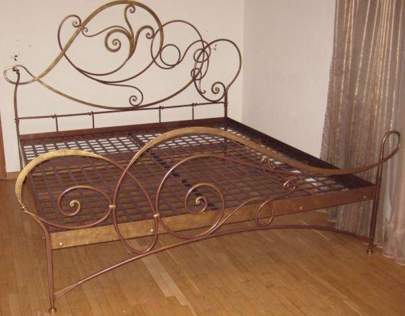 Кованая кровать М36