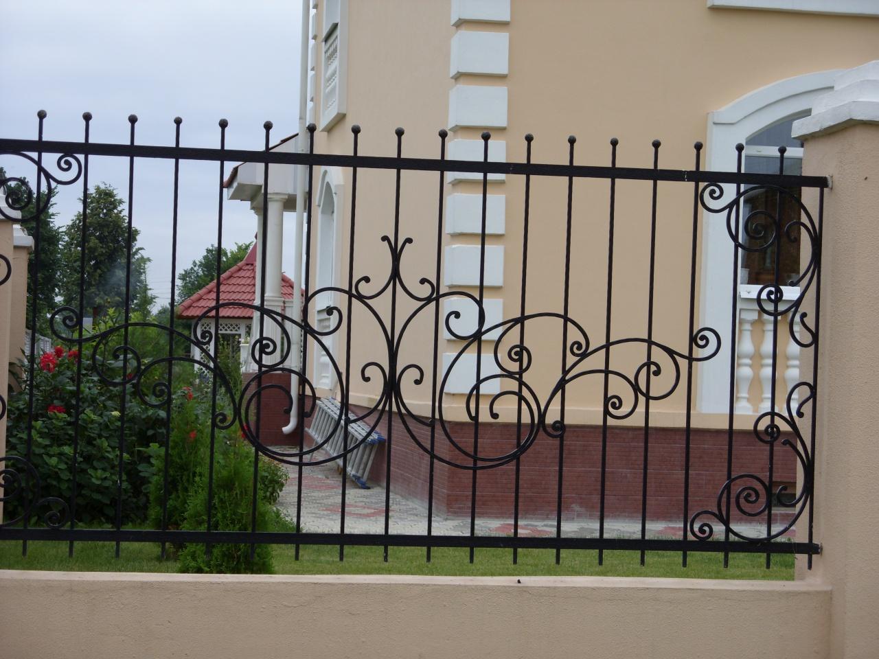 Кованый забор КЗ-55