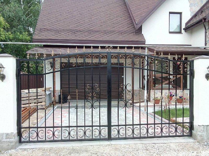 Кованые ворота КВ-35