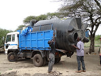 donate water supply equipment