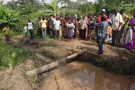 safe water in Uganda