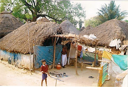 Indian water scarcity village