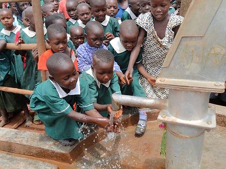 School children at well.JPG