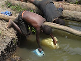 Open water source Uganda