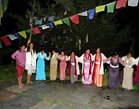 Cultural activity to sponsor a village
