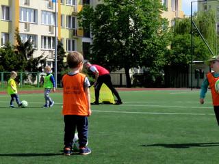 Piłkarskie Przedszkole - Pierwsze zajęcia na Cyrklowej (sobota)