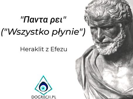 Wszystko płynie - Heraklit