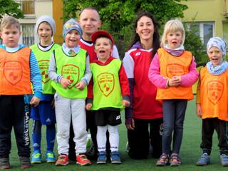 Piłkarskie Przedszkole - pierwsze zajęcia na Cyrklowej (czwartek)