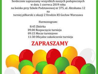 2 Urodziny KS Gocław - Turniej